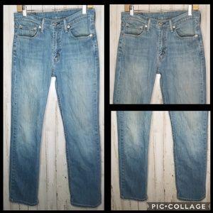 Levi's 514 Jeans Light Wash Size 31x32